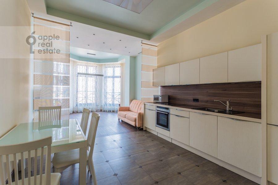 Kitchen of the 4-room apartment at Malaya Polyanka 2