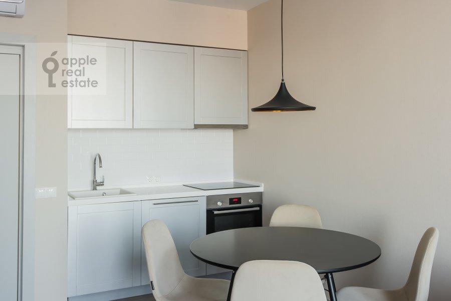 Кухня в 3-комнатной квартире по адресу Ленинский проспект 95Б