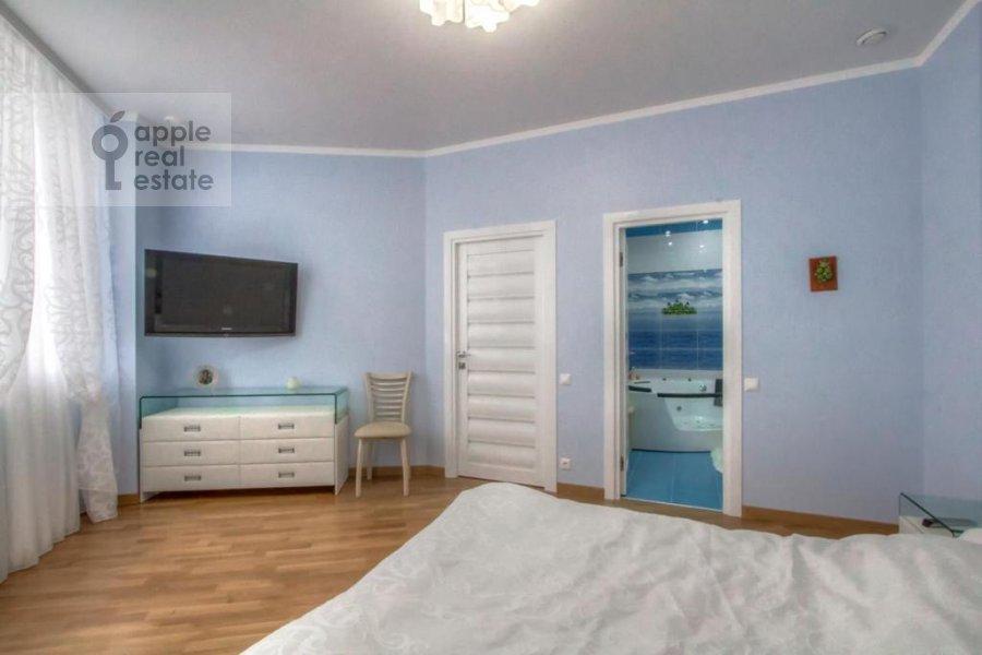 Спальня в 3-комнатной квартире по адресу Профсоюзная, 64