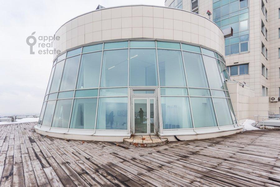 Балкон / Терраса / Лоджия в 6-комнатной квартире по адресу Ленинский проспект 111/1