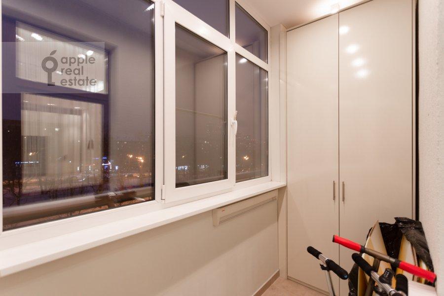 Балкон / Терраса / Лоджия в 3-комнатной квартире по адресу Мичуринский проспект 6к2