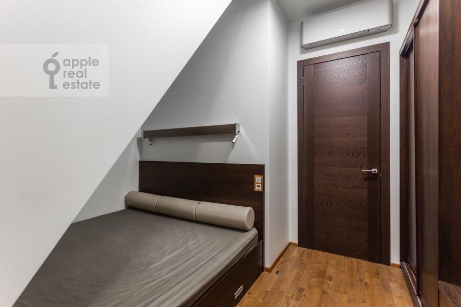Bedroom of the 2-room apartment at Merzlyakovskiy pereulok 13