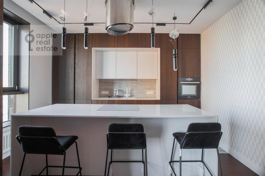 Kitchen of the 3-room apartment at Dmitrovskoe shosse 13