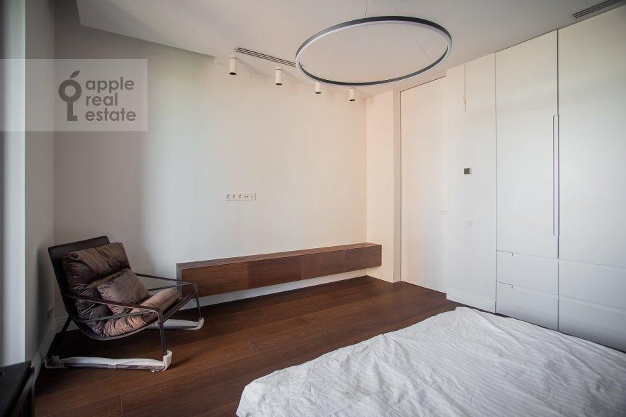 Bedroom of the 3-room apartment at Dmitrovskoe shosse 13
