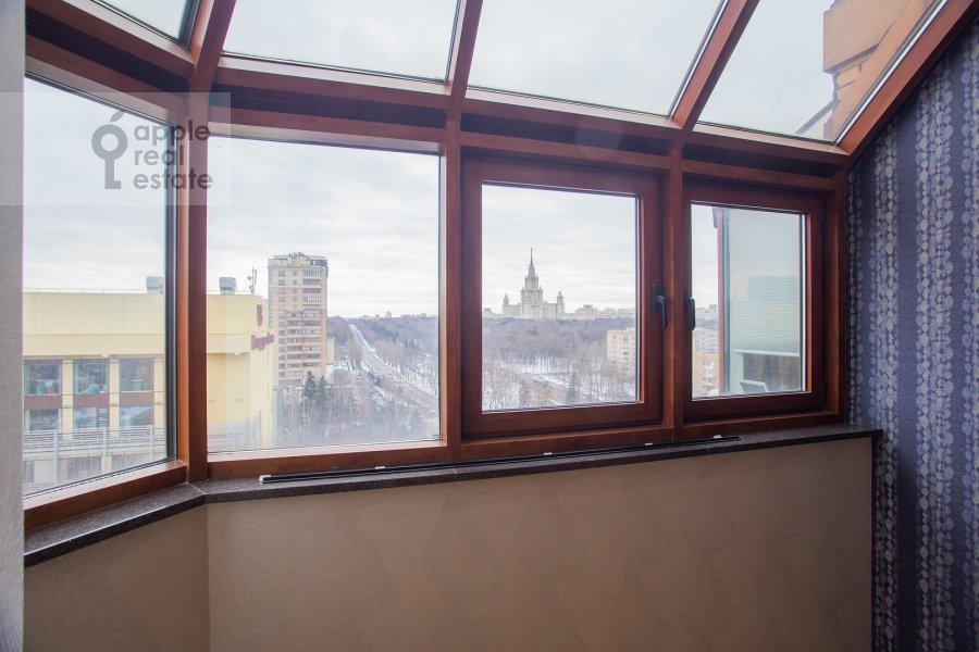 Bedroom of the 5-room apartment at Universitetskiy prospekt 16