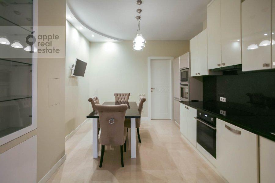 Kitchen of the 3-room apartment at Nezhinskaya ul. 1k2
