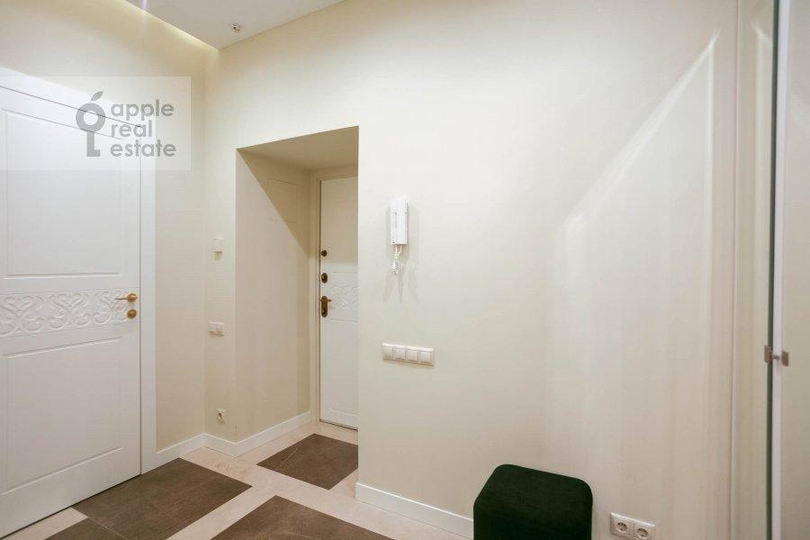 Corridor of the 3-room apartment at Nezhinskaya ul. 1k2