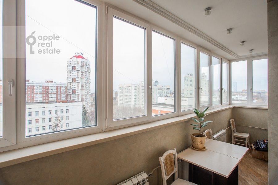 Балкон / Терраса / Лоджия в 3-комнатной квартире по адресу Мичуринский проспект 16