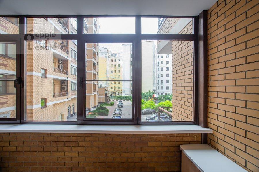 Balcony / Terrace / Loggia of the 3-room apartment at Klimentovskiy pereulok 2