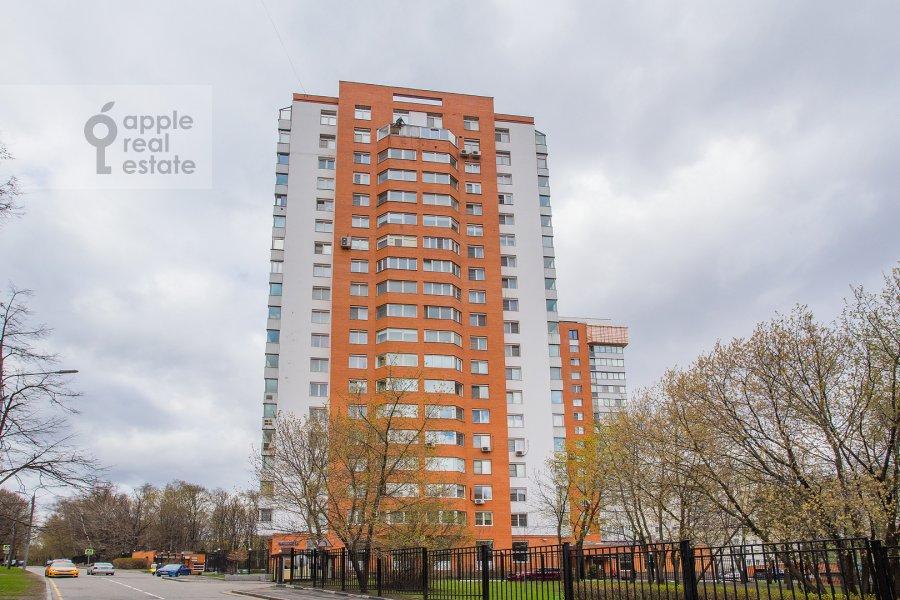 Photo of the house of the 3-room apartment at Zvenigorodskaya ulitsa 8k1
