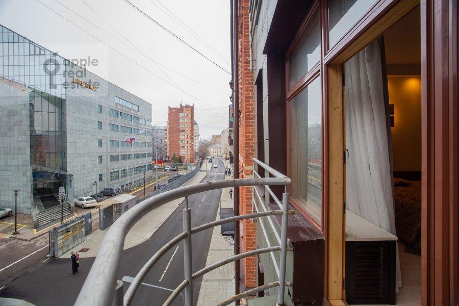 Балкон / Терраса / Лоджия в 3-комнатной квартире по адресу Даев пер. 33