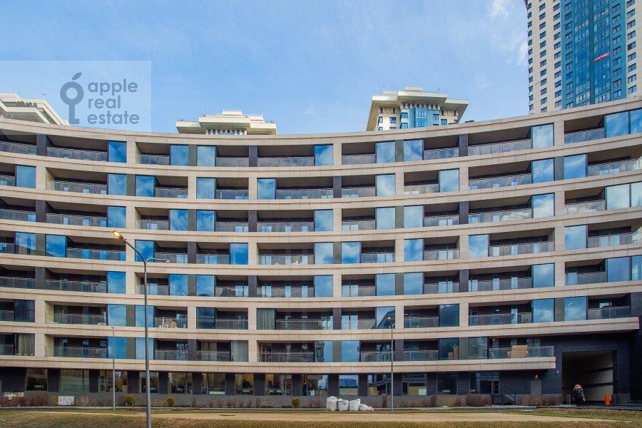 Photo of the house of the 3-room apartment at Minskaya ulitsa 2Vk1