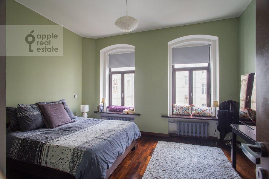 Спальня в 3-комнатной квартире по адресу Армянский пер. 7