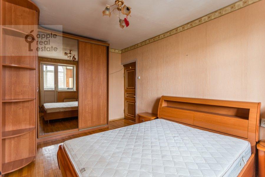 Спальня в 3-комнатной квартире по адресу Южнобутовская ул. 5