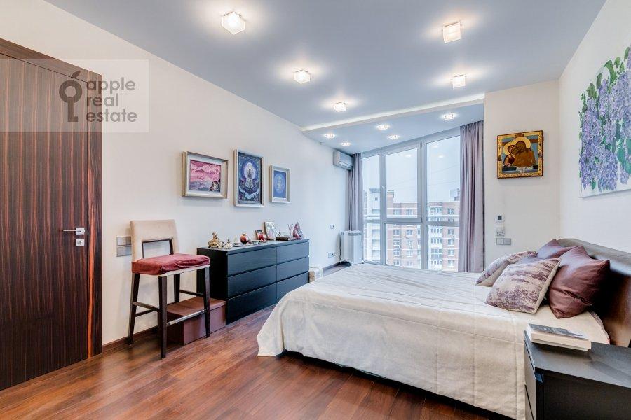 Спальня в 2-комнатной квартире по адресу Большая Филевская улица 16к1