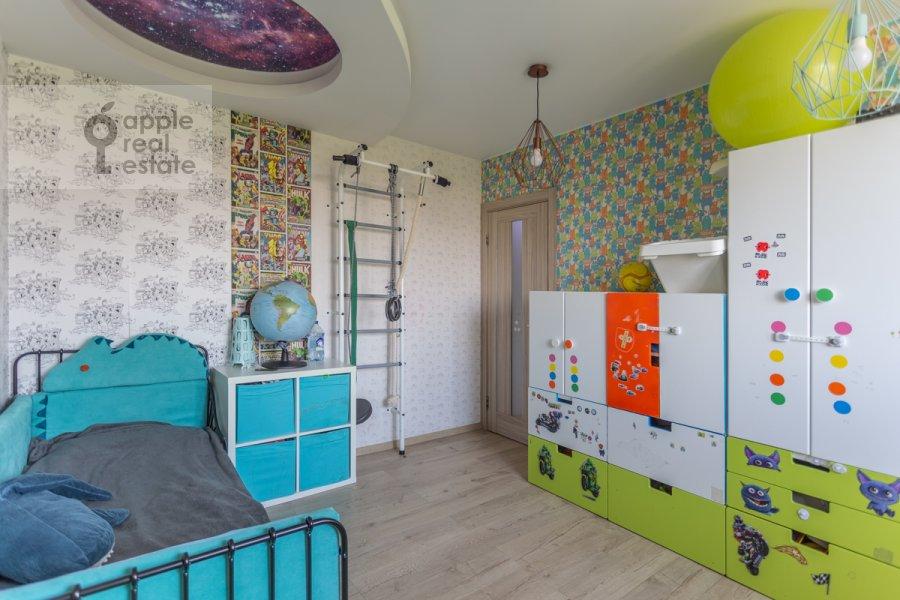 Детская комната / Кабинет в 3-комнатной квартире по адресу Сходненская 3