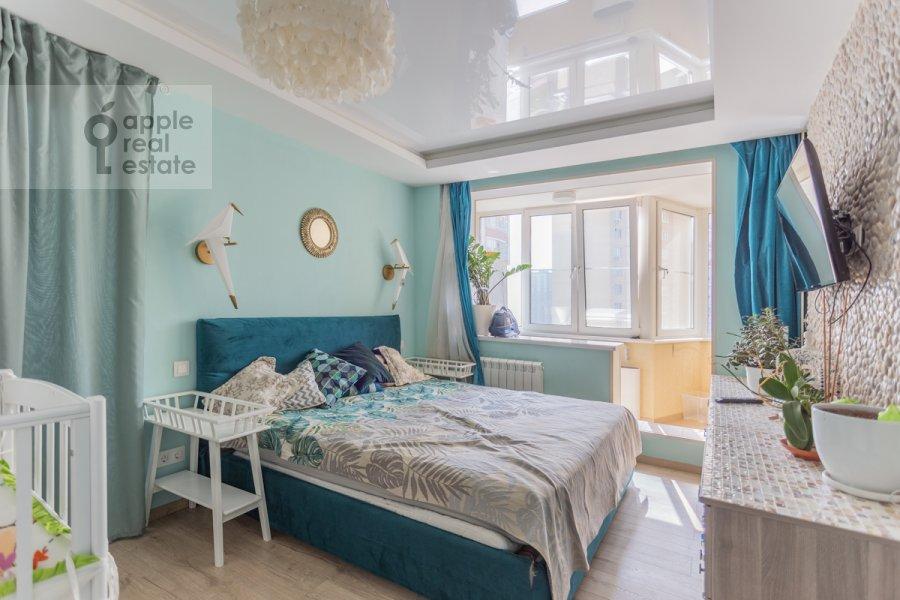 Спальня в 3-комнатной квартире по адресу Сходненская 3