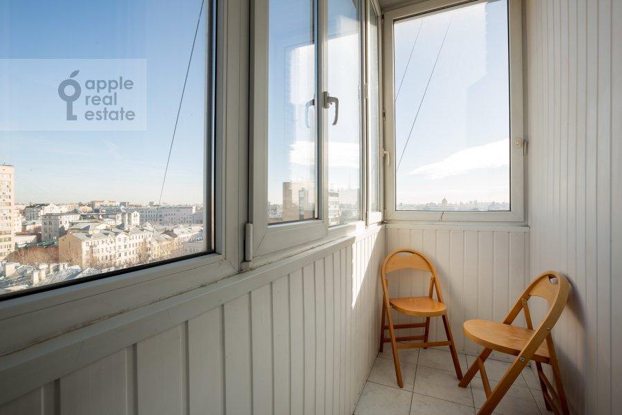 Балкон / Терраса / Лоджия в 3-комнатной квартире по адресу Спиридоновка ул. 12