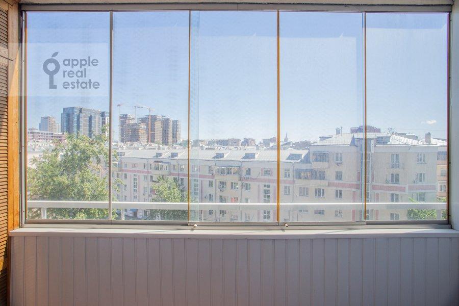 Балкон / Терраса / Лоджия в 2-комнатной квартире по адресу Шмитовский проезд 16с1