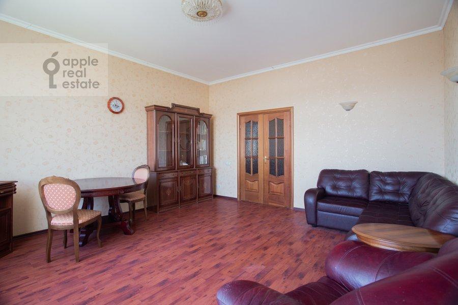 Гостиная в 2-комнатной квартире по адресу Шмитовский проезд 16с1