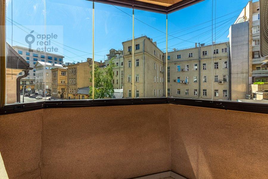 Balcony / Terrace / Loggia of the 2-room apartment at 2-ya Tverskaya-Yamskaya ulitsa 26