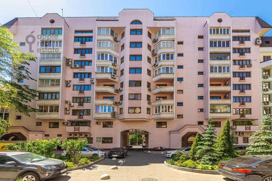 Photo of the house of the 2-room apartment at 2-ya Tverskaya-Yamskaya ulitsa 26
