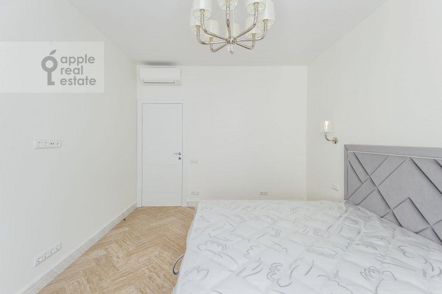 Bedroom of the 3-room apartment at Leningradskiy prospekt 35s2