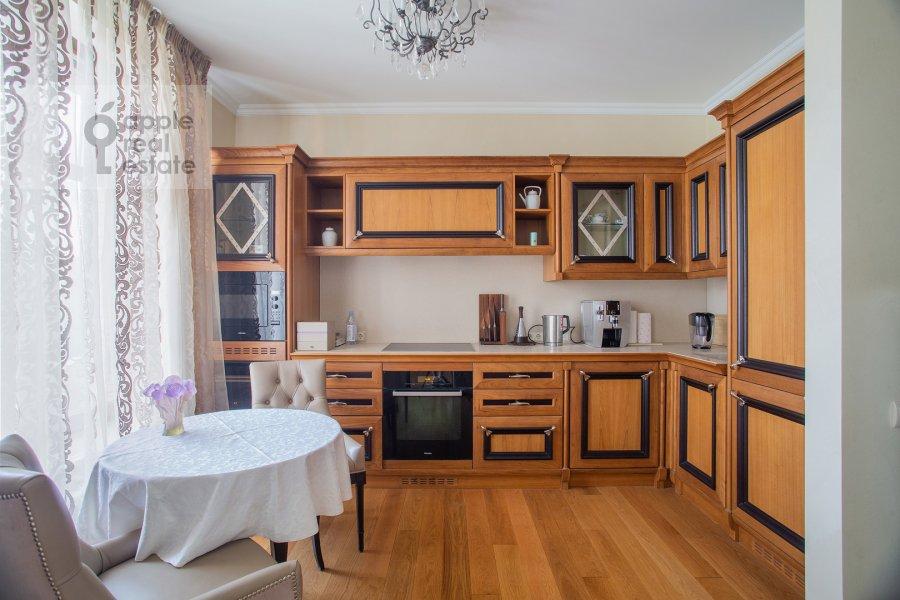 Kitchen of the 3-room apartment at Krylatskaya ulitsa 45K2