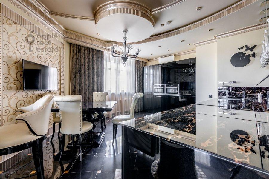 Kitchen of the 3-room apartment at Marshala Zhukova pr-t. 78