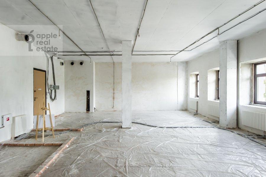 Гостиная в 2-комнатной квартире по адресу Поварская улица 8к1