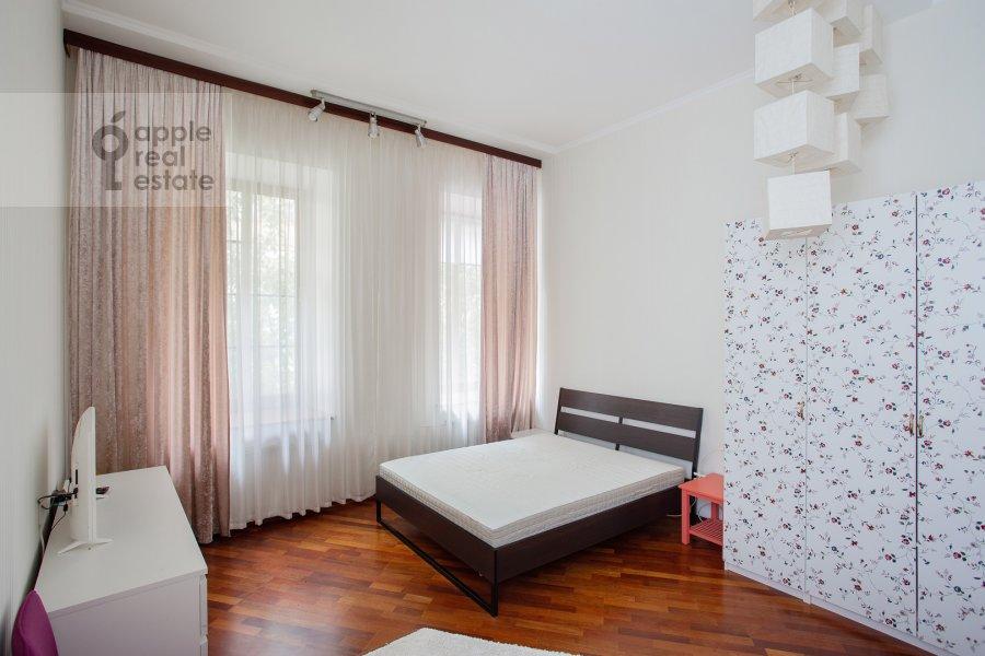 Спальня в 3-комнатной квартире по адресу Б. Николопесковский пер. 3