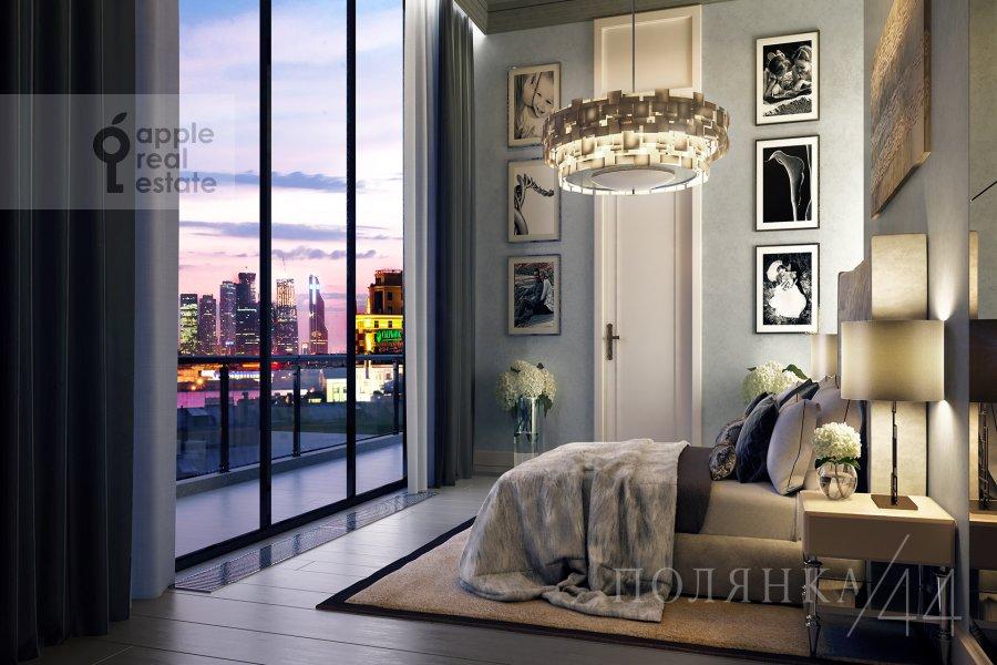 Спальня в квартире-студии по адресу Полянка Большая ул. 44