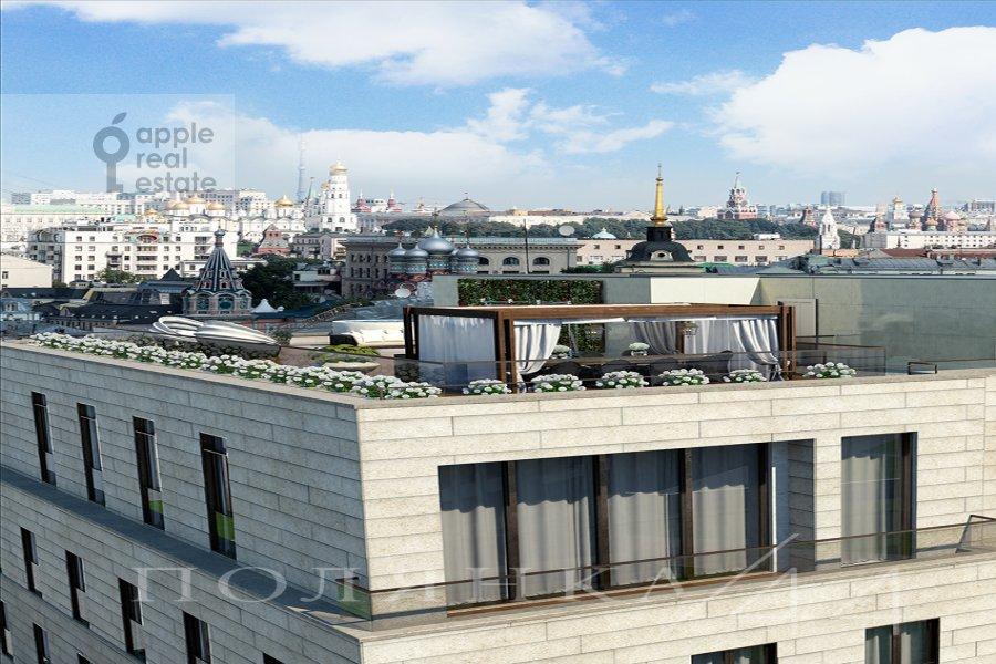 Балкон / Терраса / Лоджия в квартире-студии по адресу Полянка Большая ул. 44