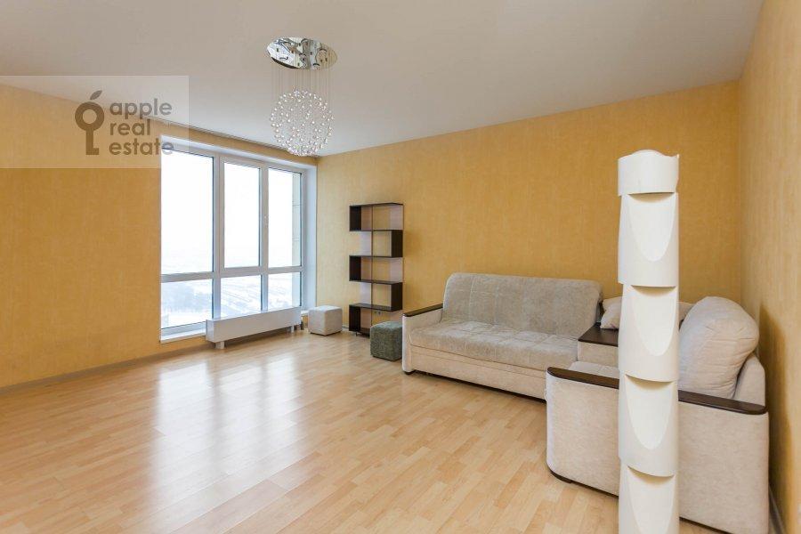 Гостиная в 3-комнатной квартире по адресу Хорошевское ш. 12с1