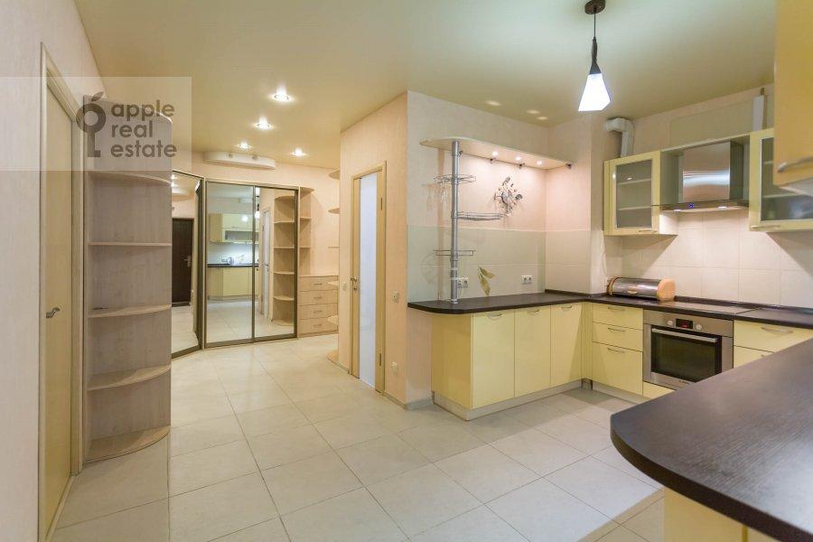 Кухня в 3-комнатной квартире по адресу Хорошевское ш. 12с1