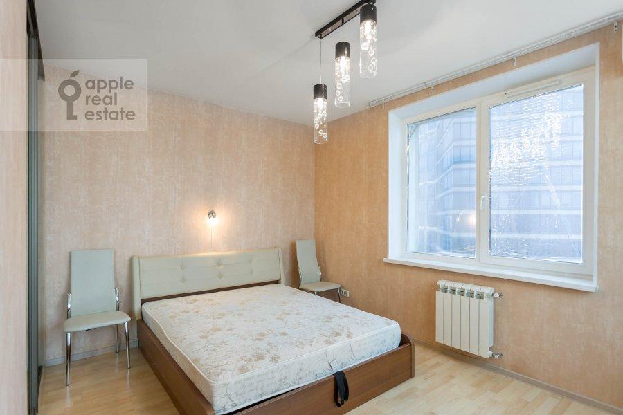 Спальня в 3-комнатной квартире по адресу Хорошевское ш. 12с1