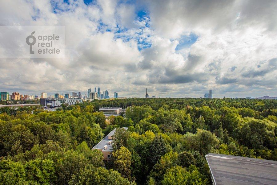 View from the window of the 4-room apartment at Davydkovskaya ulitsa 3