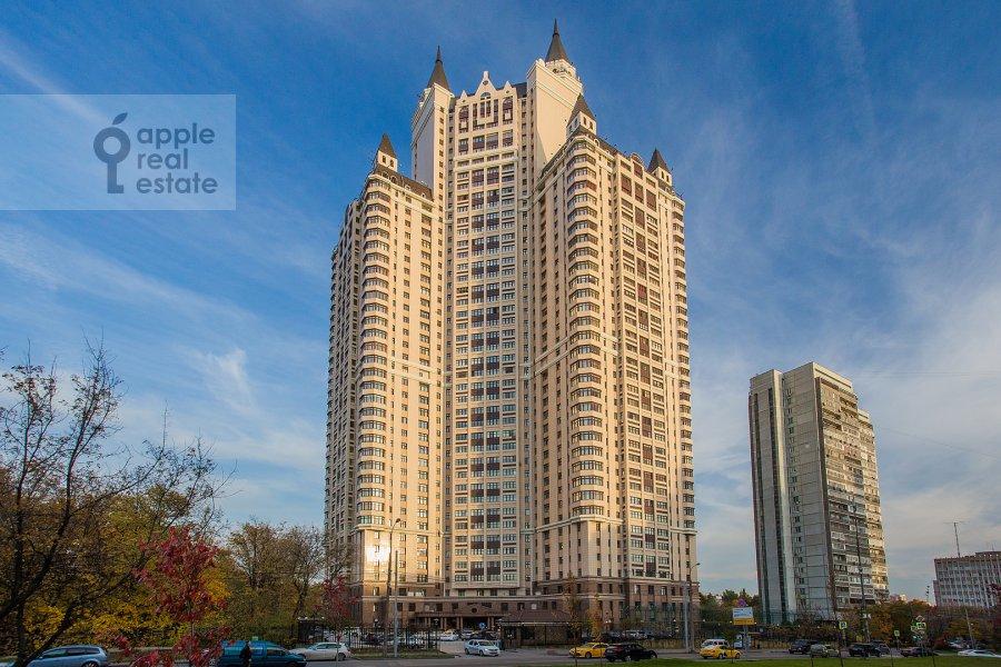 Photo of the house of the 4-room apartment at Davydkovskaya ulitsa 3