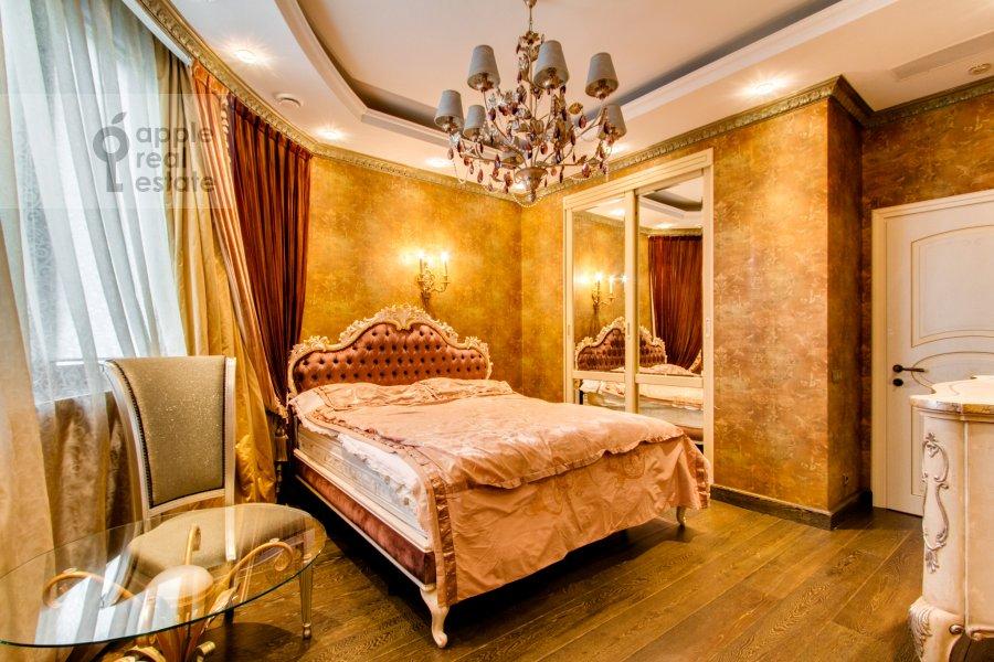 Спальня в 4-комнатной квартире по адресу Карамышевская набережная 48к2