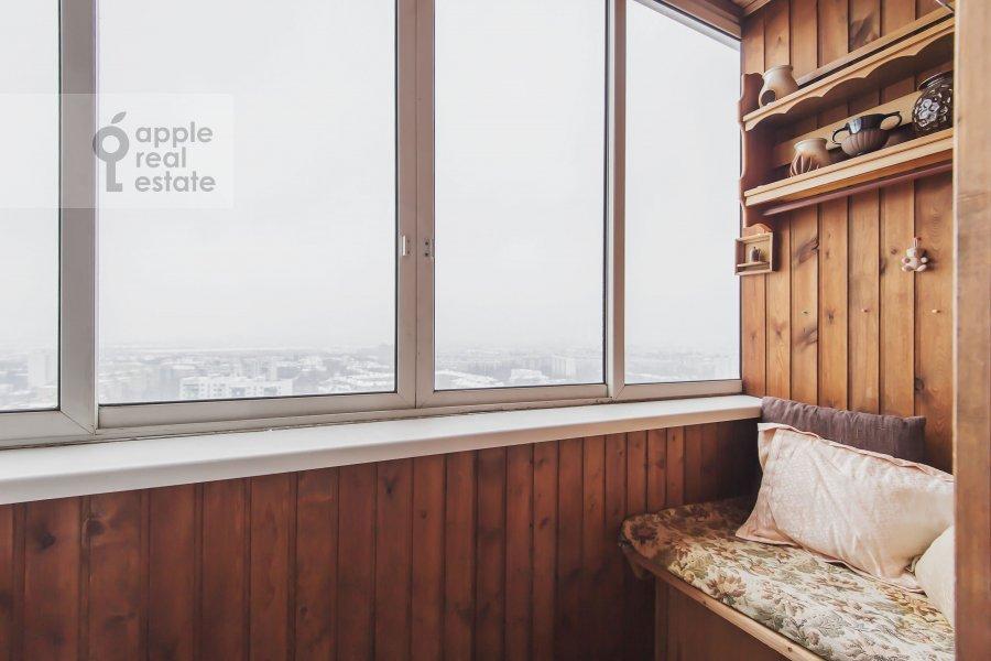 Balcony / Terrace / Loggia of the 2-room apartment at Volzhskiy bul'v. 11