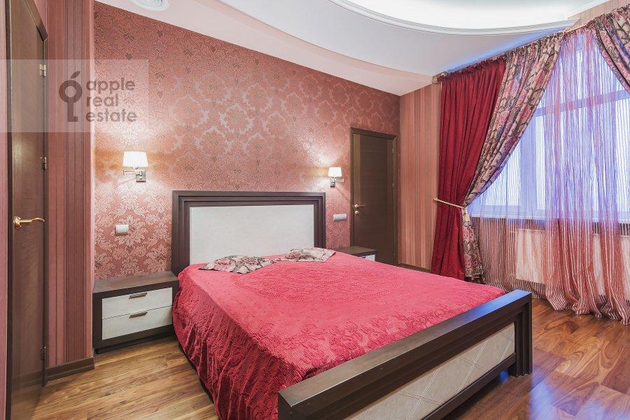 Bedroom of the 3-room apartment at Marshala Sokolovskogo ul. 5