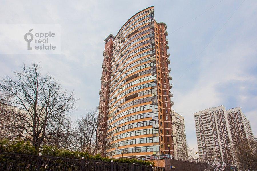 Photo of the house of the 6-room apartment at Akademika Pilyugina 24k1