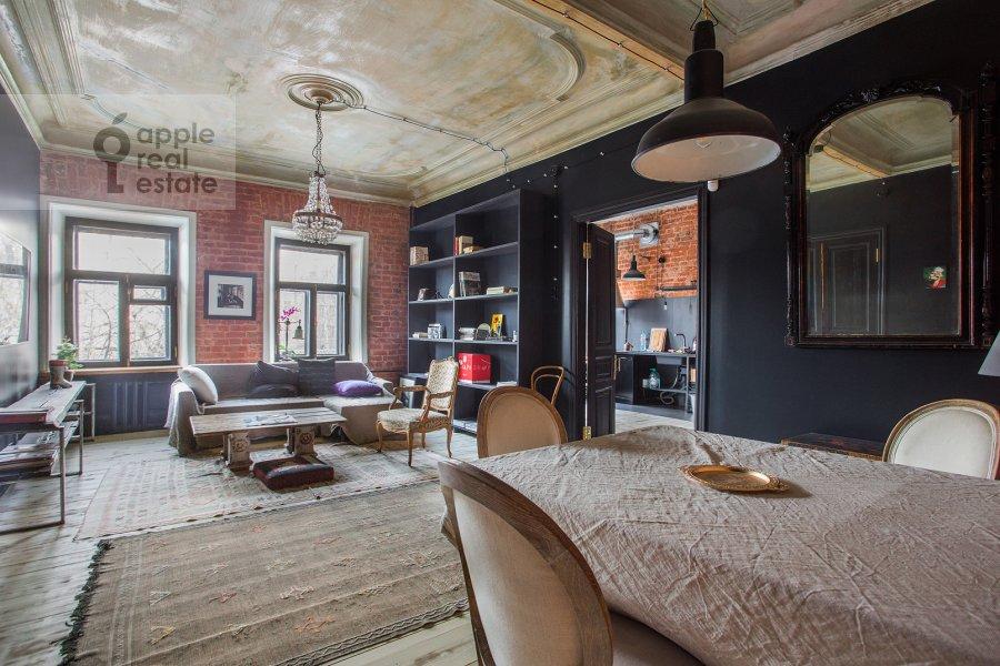 Поэтажный план 2-комнатной квартиры по адресу Тимура Фрунзе ул. 22