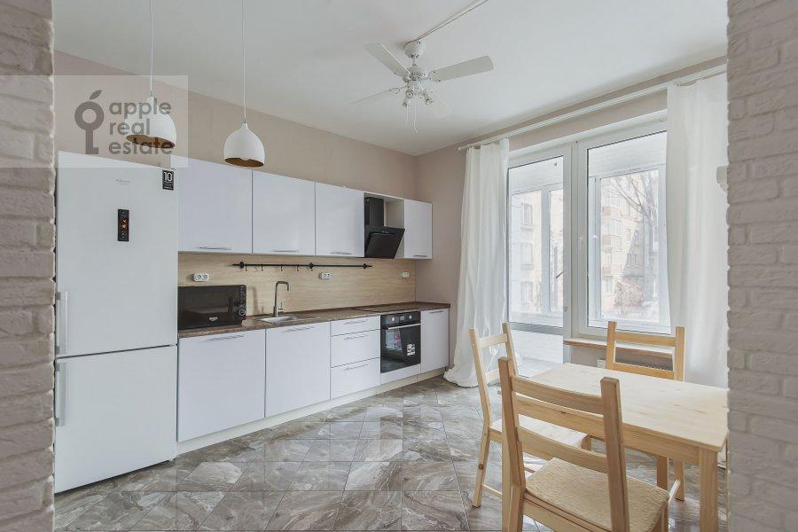 Kitchen of the 2-room apartment at Borisovskaya ul. 4