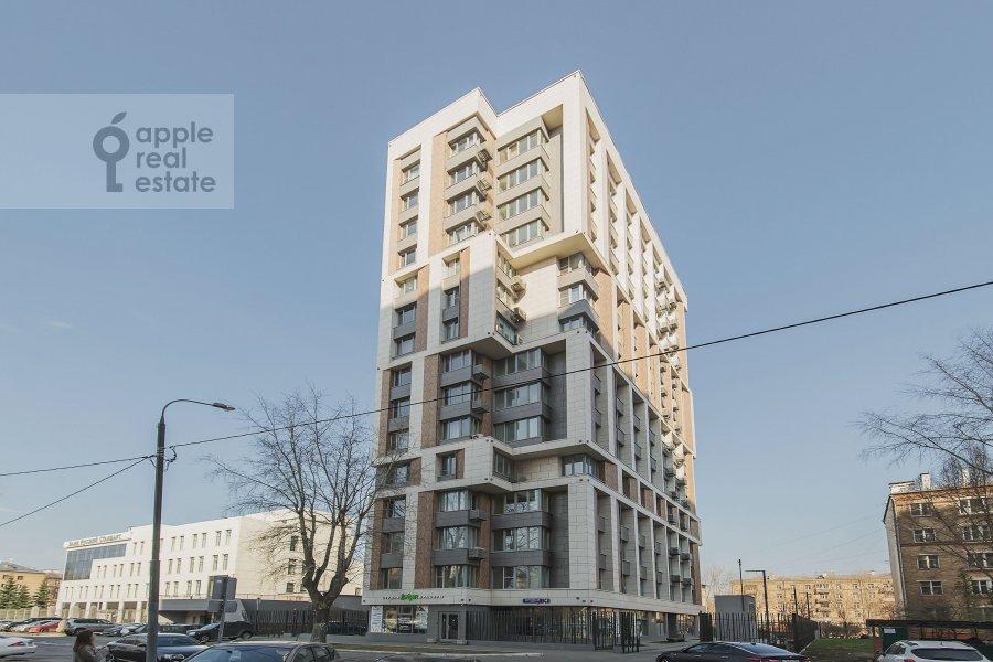 Photo of the house of the 2-room apartment at Borisovskaya ul. 4