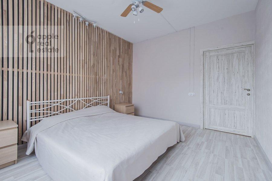 Bedroom of the 2-room apartment at Borisovskaya ul. 4