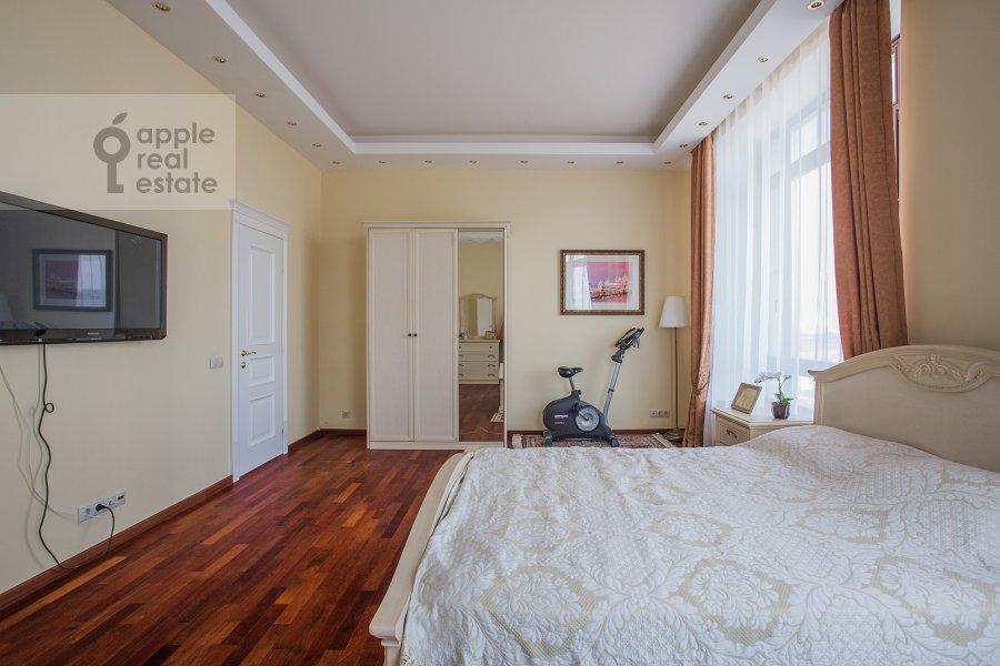 Bedroom of the 2-room apartment at Minskaya ul. 1Gk1