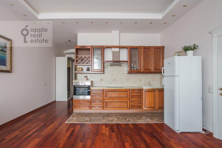 Kitchen of the 2-room apartment at Minskaya ul. 1Gk1