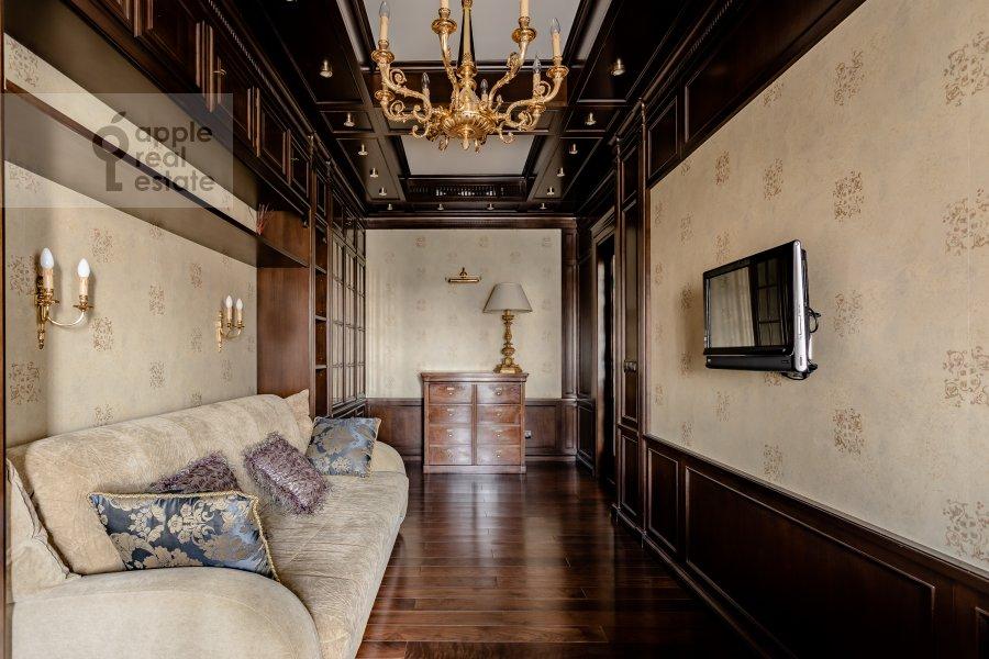Детская комната / Кабинет в 4-комнатной квартире по адресу Мичуринский пр-т 6к3
