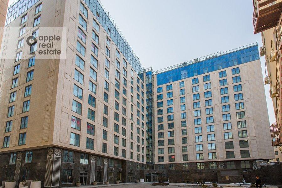 Photo of the house of the 3-room apartment at Bol'shaya Sadovaya 5k1